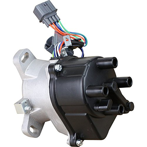 Brand New Complete Ignition Distributor w/ Cap & Rotor for 1990 1991 1992 1993 1994 1995 Honda Accord 2.2L w/TEC TD-31U TD-34U 30100-PT3-A03 OEM FIT DTD31