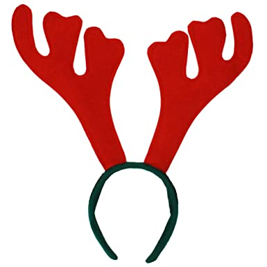 stag horns stag do party rudolf christmas antlers fancy dress