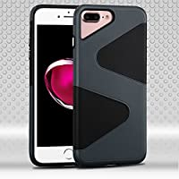 Asmyna Cell Phone Case for Apple iPhone 7 Plus - Slate Blue