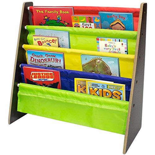 espresso bookshelf for kids - 7