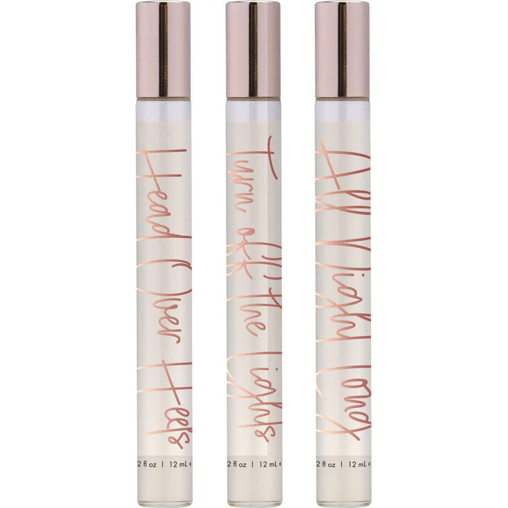Pheromone Perfume Oil 3 Pc Gift Set