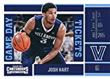 2017-18 Panini Contenders Drafts Picks Game Day Tickets #34 Josh Hart Villanova Wildcats Basketball Rookie Card