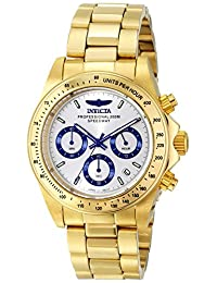 Invicta Men's 17312 Speedway Analog Display Japanese Quartz Gold Watch