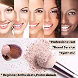 BS-MALL Makeup Brush Set 18 Pcs Premium Synthetic