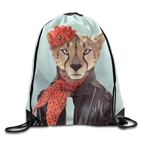 Travel Drawstring Backpacks Mr. Lion Fashion Durable Polyester Drawstring Sports Fan Sackpack Bags For Shoes from trgfdlamg