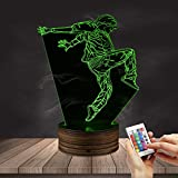 Hip Hop Dancer LED Night Lights Modern Dancer Street Dancer 3D Optical illusion Lamp Dance Studio Decorative Lighting Decor Gift For Dancers