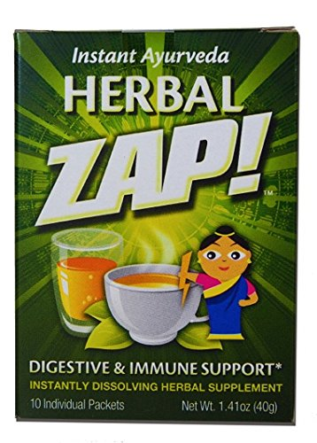 "Herbal ZAP""Digestive & Immune Support"" 10 - Count Box, 1.41 Ounce"