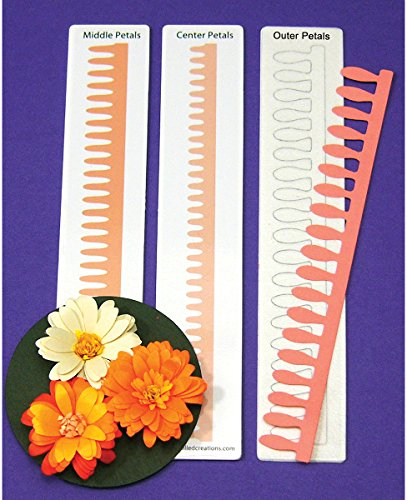 Quilling Dies - Dahlia & Daisy 1 pcs sku# 1857128MA by Quilled Creations