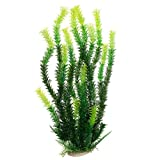 Artificial Fake Aquarium Plants Plastic Tall 17 Inch for Fish Tank Decorations