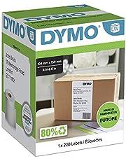 Dymo LW-verzendetiketten 1 rol (220 etiketten) 104 x 159mm wit