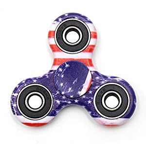 TOLOCO Spinner Fidget Toy Hand Spinner Camouflage,for ADHD EDC Hands Killing Time (A3-Flag camouflage)
