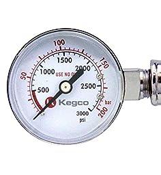 Kegco KC LH-542 Premium Pro Series Dual Gauge Co2 Draft Beer Regulator, Chrome