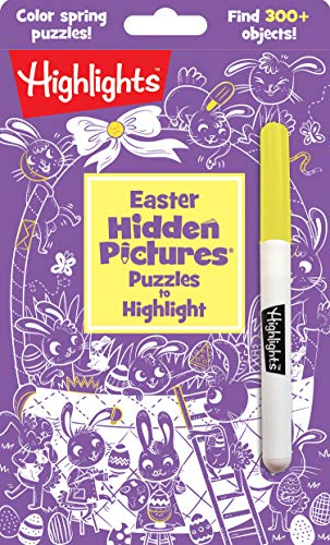 Easter Hidden Pictures® Puzzles to Highlight (Highlights(TM) Hidden Pictures® Puzzles to Highlight Activity Books)