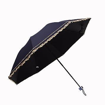 Paraguas Plegable Paraguas Plegable De Doble Uso - Creative Nueva Sombrilla Paraguas Paraguas De Setenta Por