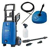 Nilfisk 128470362 - Limpiador de alta presión (consumo energético de 1400 W, frecuencia de 50/60 Hz, presión de 120 bar) color azul y negro