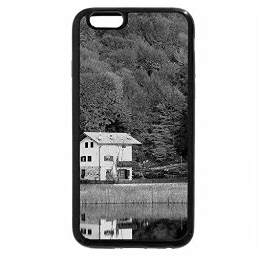 iPhone 6S Plus Case, iPhone 6 Plus Case (Black & White) - Autumn-house
