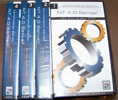 (NT 4.0 Server MCP Exam Number 70-67 Video Series 1-4 Featuring Heather Osterloh VHS)