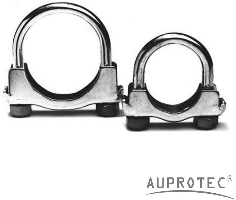 10 St/ück /Ø 80 mm AUPROTEC 10 St/ück B/ügelschelle M8 Rohrschelle /Ø38-80 mm Auswahl: