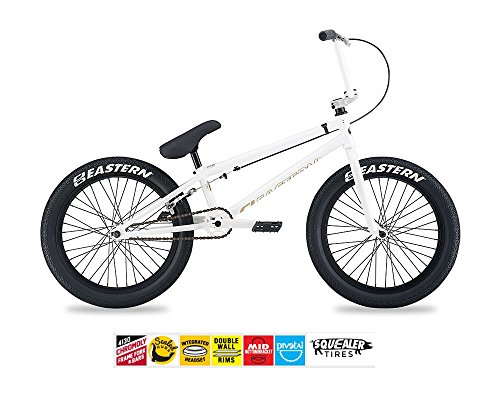 EASTERN ELEMENT BMX BIKE 2017 BICYCLE WHITE AND GOLD