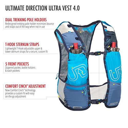 Ultimate Direction Ultra Vest 4.0, Signature Blue, Medium by Ultimate Direction (Image #3)