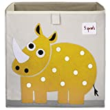 3 Sprouts Storage Box, Rhino, Yellow