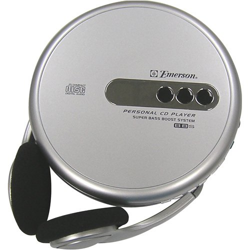 EMERSON HD7998SL PERSONAL CD PLAYER ELECTRONIC VOLUME