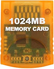 OSTENT 1024MB Memory Card Stick for Nintendo Wii Gamecube NGC Console Video Game