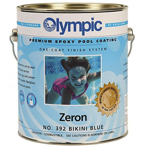 Kelley Technical 392GL Olympic Zeron One Coat Epoxy Pool Coating - Bikini Blue (Epoxy Pool Paint)