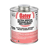 Oatey 30919 ABS Extra Special Cement, Black, 32-Ounce