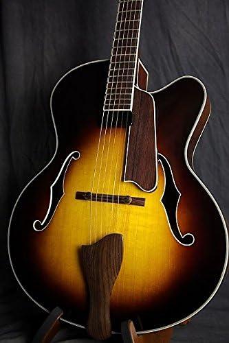 Eastman AR610CE-CS Archtop - Guitarra con funda rígida: Amazon.es ...