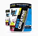 Cheap BPI Sports Best Creatine Defined Lean Muscle Hardening Agent, 40 Servings Each (2 Pack) (Cherry Lime)