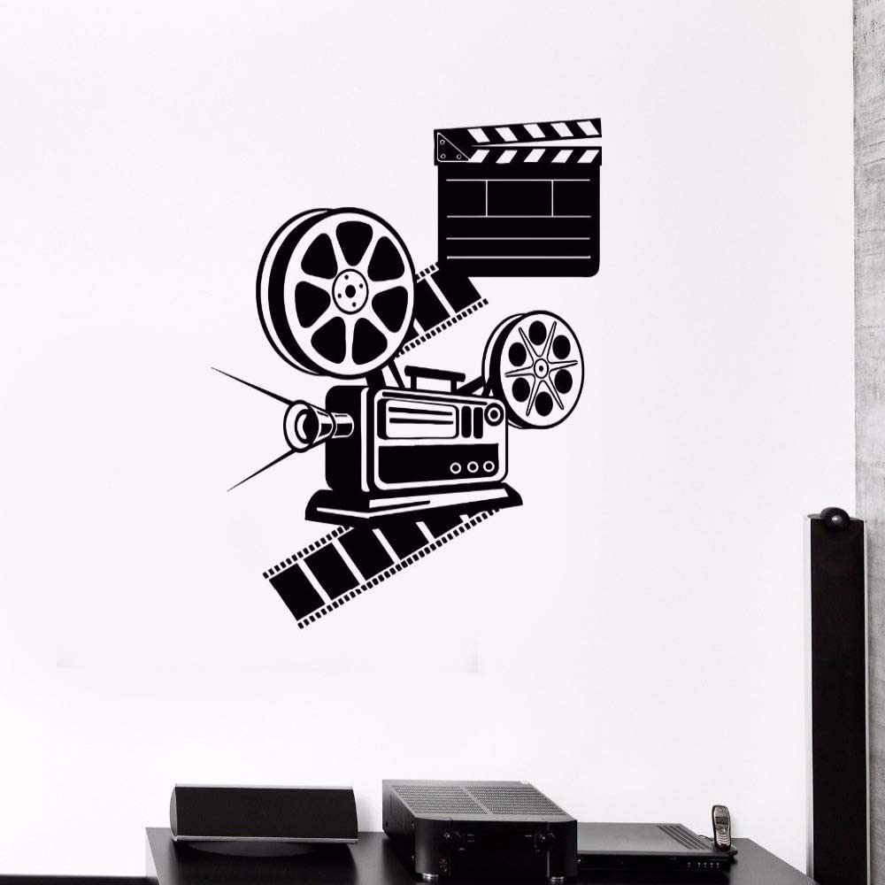 guijiumai Amante Sala de Cine Decoración Sala de Cine Etiqueta de ...