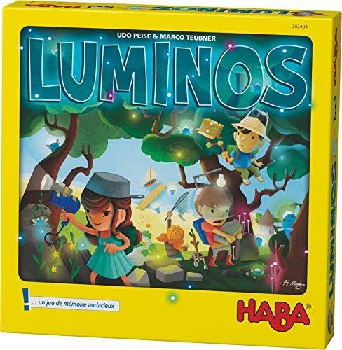 HABA 302404 Luminos La Búsche de Luminettes Un Juego de Mesa aventuroso para los 5 años y más: Amazon.es: Juguetes y juegos