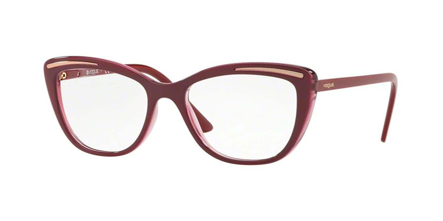 Vogue occhiali da vista donna VO5218 viola, cat eye, 50