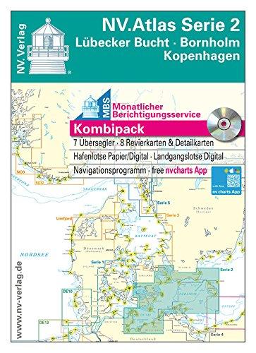 2019 NV-Verlag Kombipack Serie 1 Rund Fünen Kieler Bucht Seekarten Ostsee Neu
