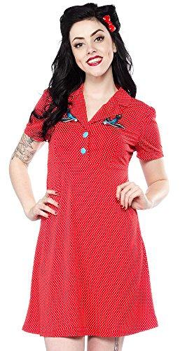 Sourpuss-Rosie-Songbird-Dress