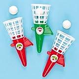 Pop 'n' Catch Games Stocking Filler for Children (Pack of 6)