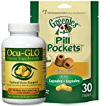 Ocu-GLO Vision Improvement Suport for Medium/Large Dogs 90 Gelcaps
