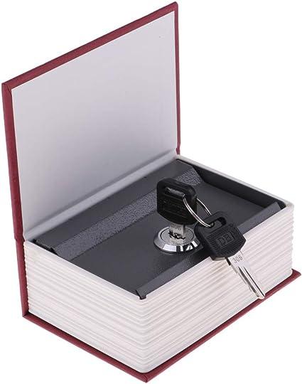 Caja de Caudales Camuflada Libro de Texto, Multicolor, 11.5x8x4 ...