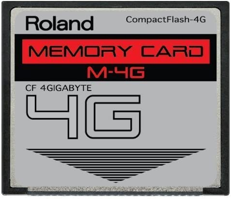 Roland 8GB M-8G CompactFlash CF Memory Card for MC-808, SP-404, SP-555, V-Synth, G-70, TD-20, Fantom and more