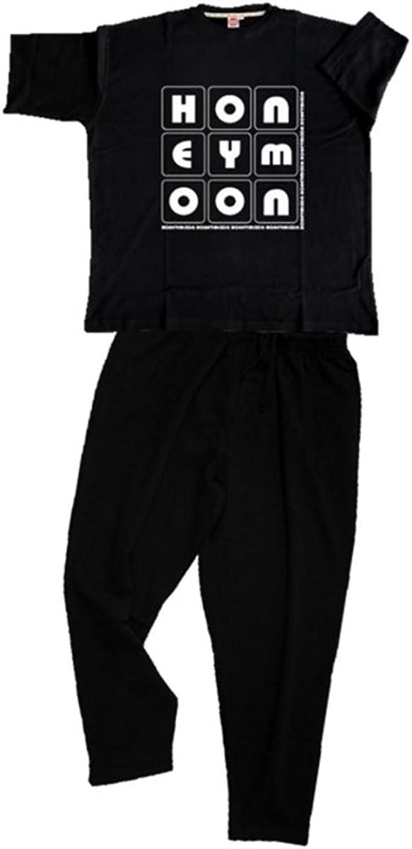 Honeymoon - Elegante chándal con Camiseta 6XL – 15XL Negro 15X ...