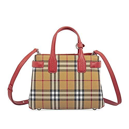 Burberry Red Handbag - 3