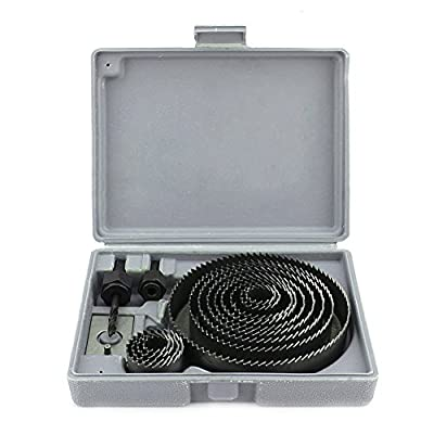 16Pcs Hole Saw Kit