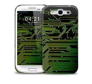 Computer Circuit Samsung Galaxy S3 GS3 protective phone case