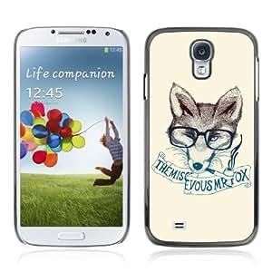 YOYOSHOP [Clever & Stylish Hipster Fox] Samsung Galaxy S4 Case