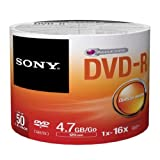 DVD Recordable Media - DVD-R - 16x - 4.70 GB - 50 Pack Spindle - Bulk