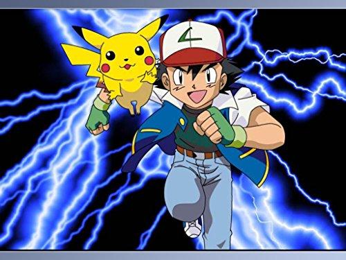 Pokemon Pikachu Electric Shock Thunderbolt Edible Cake Topper Frosting 1/4 Sheet Birthday Party -