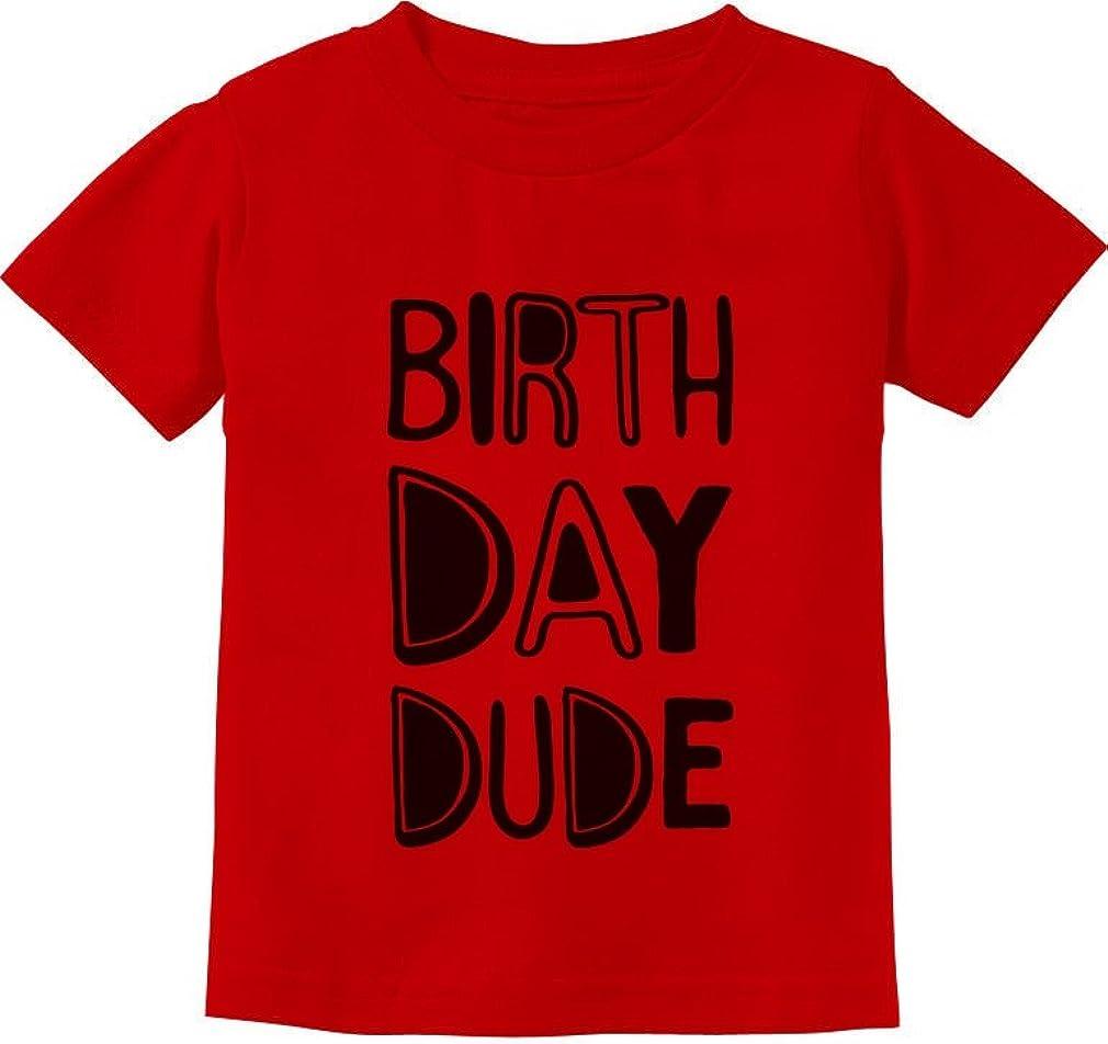 Tstars Gift for Birthday Boy Birthday Dude Party Toddler Kids T-Shirt
