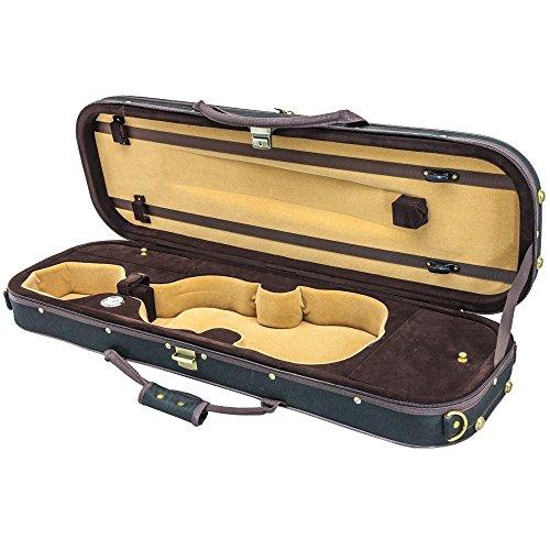 Violin Oblong Lightweight Hygrometer Black product image