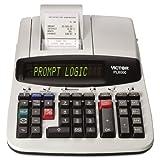 Victor PL8000 One-Color Prompt Logic Printing Calculator, Black Print, 8 Lines/Sec